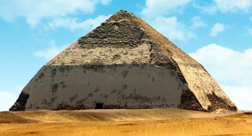 Egypt Reopens Dahsur Bent Pyramids Dashur Pyramids